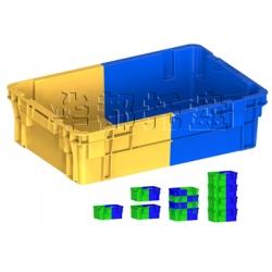 X270双色塑料箱