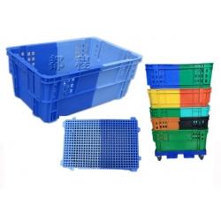 K278-双色环保塑料箱环保