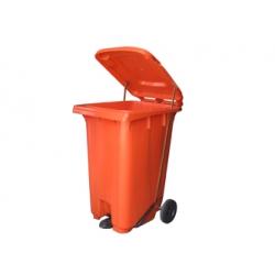 240L脚踏式垃圾桶