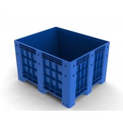 封闭式塑料卡板箱