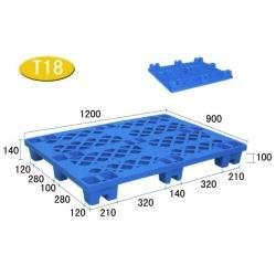 T18-九脚网格轻型塑料托盘